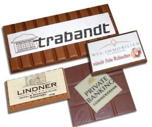 LogoSchokoladentafel